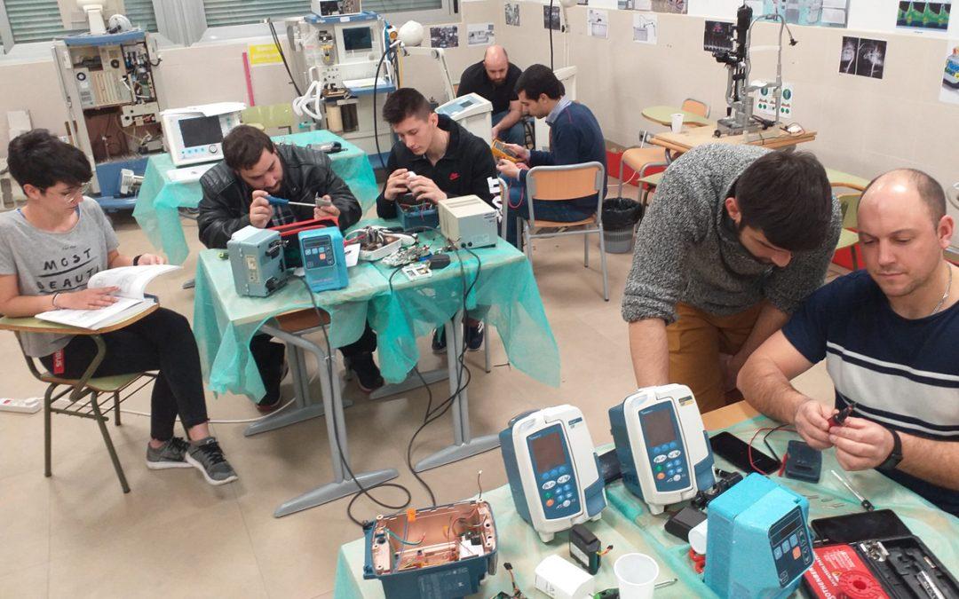 Prácticas en el laboratorio de electromedicina