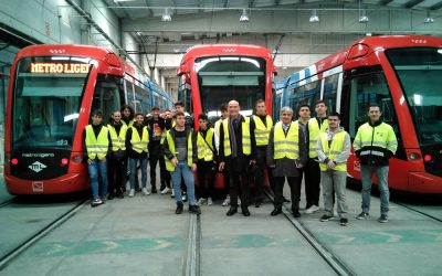 Visita al Metro Ligero Oeste