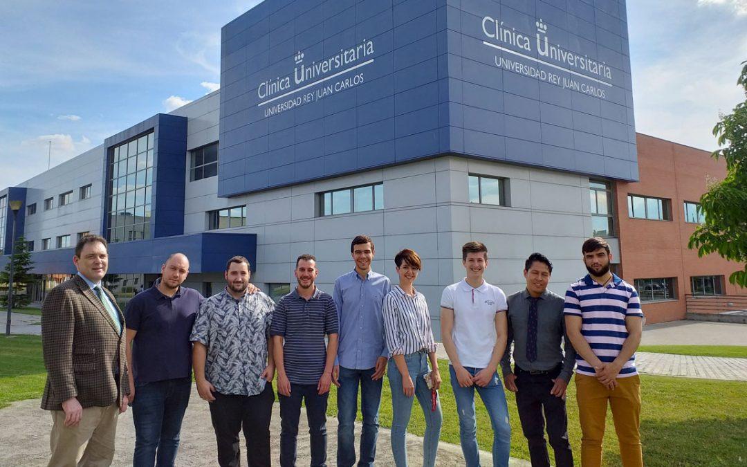 Visita al Centro de Apoyo Tecnológico de la Universidad Rey Juan Carlos
